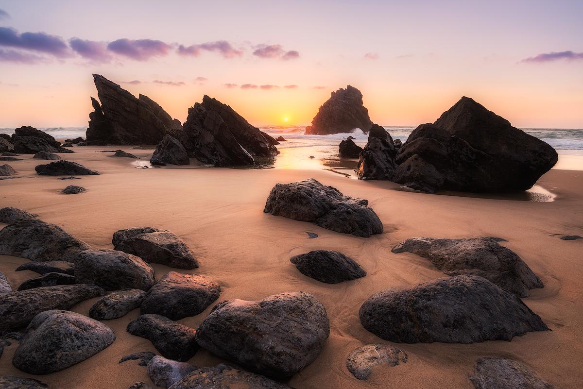 Praia da Adraga Sunset- Landscape Photography