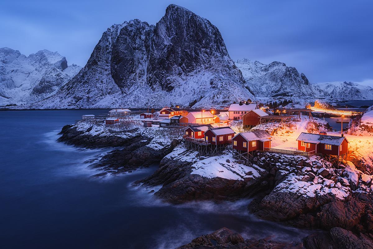 Landscape Wallpapers Vol Iii Lofoten Winter Nicolas