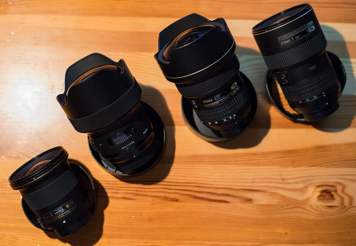 The Right Ultra Wide Angle Lens for You! - Nicolas Alexander